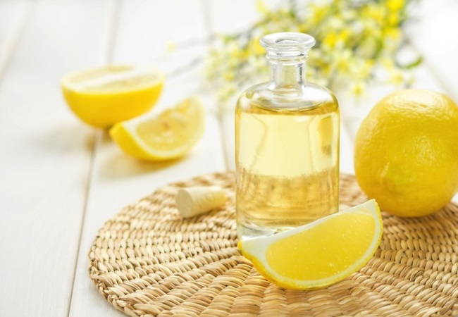 Lemon Oil For Camping First Aid