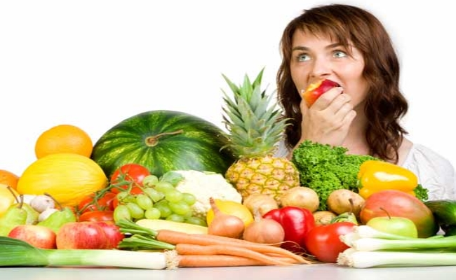 Consumption Of Fibrous Fruits And Vegetables