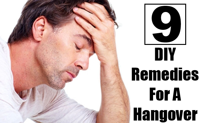 DIY Remedies For A Hangover