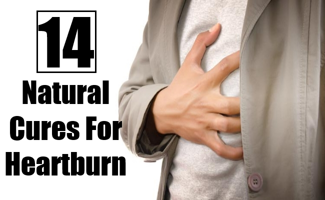 Natural Cures For Heartburn