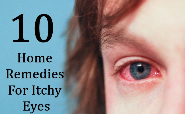 10 Home Remedies For Itchy Eyes