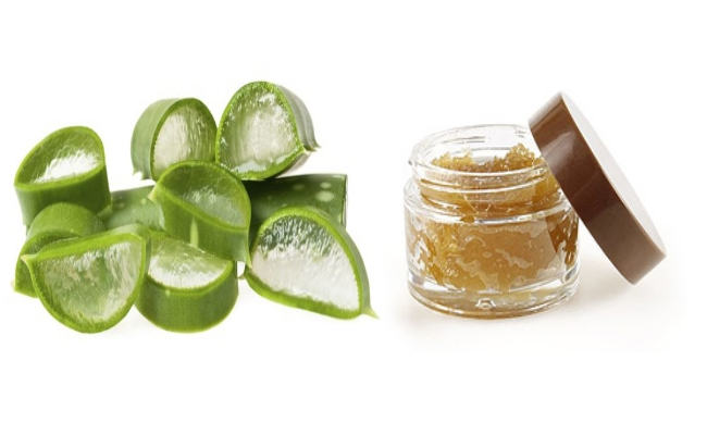 Aloe Vera Gel And Sugar Scrub