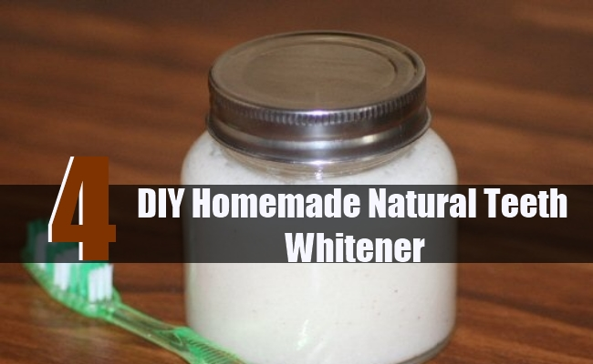 DIY Homemade Natural Teeth Whitener