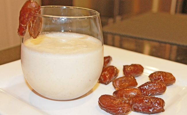 Hot Milk And Dates