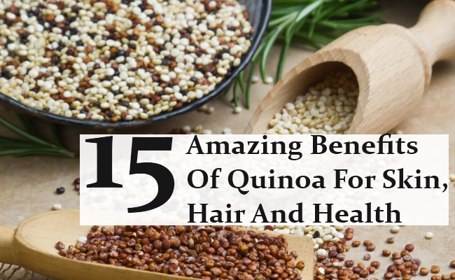 Amazing Benefits Of Quinoa For Skin, Hair And Health