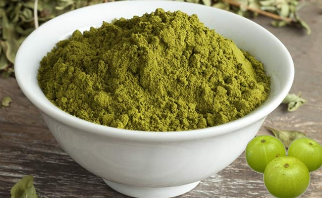 Indian Gooseberry Powder With Henna