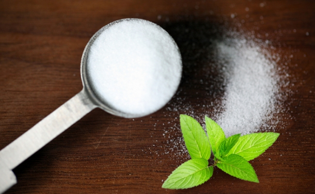 Baking Powder And Mint Juice