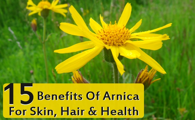 Benefits Of Arnica For Skin, Hair & Health