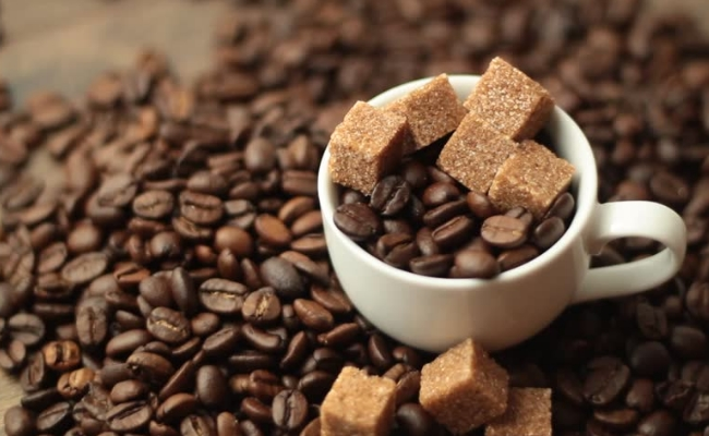 Brown Sugar With Coffee