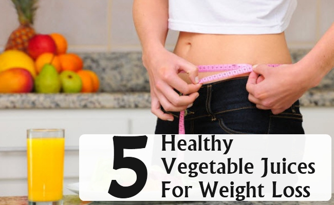 Healthy Vegetable Juices For Weight Loss