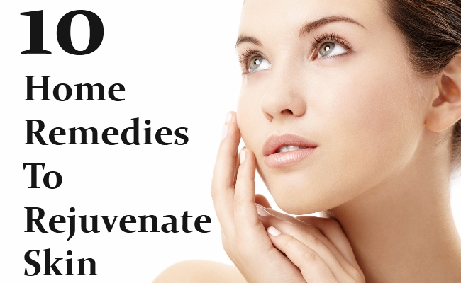 Home Remedies To Rejuvenate Skin