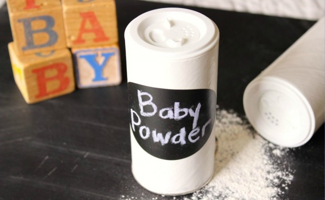 Used as Baby Powder
