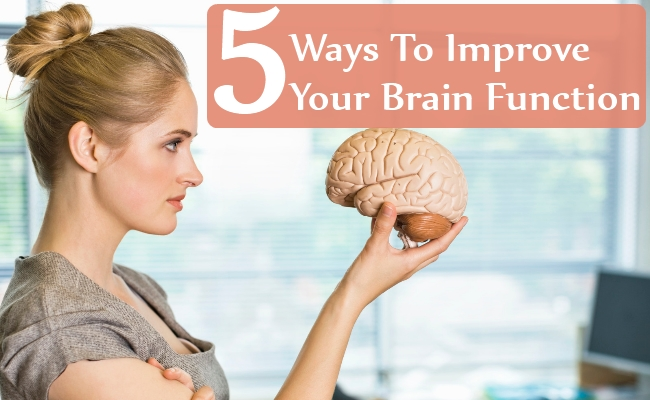 Ways To Improve Your Brain Function