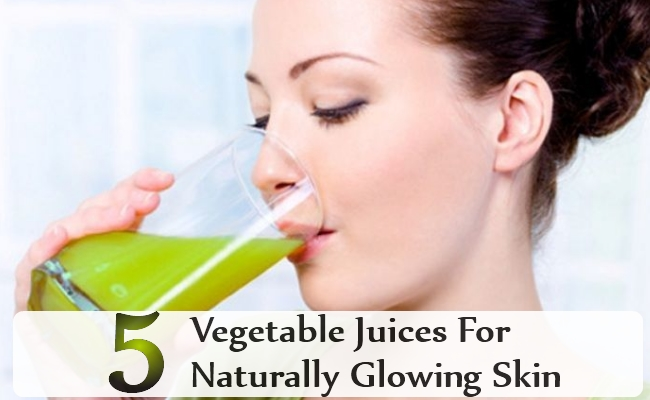 Yummy Vegetable Juices For Naturally Glowing Skin