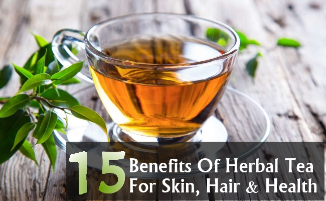 Benefits Of Herbal Tea For Skin, Hair And Health