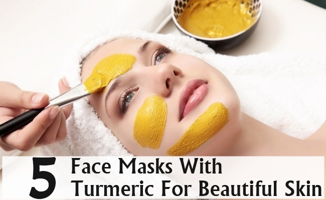 Face Masks With Turmeric For Beautiful Skin