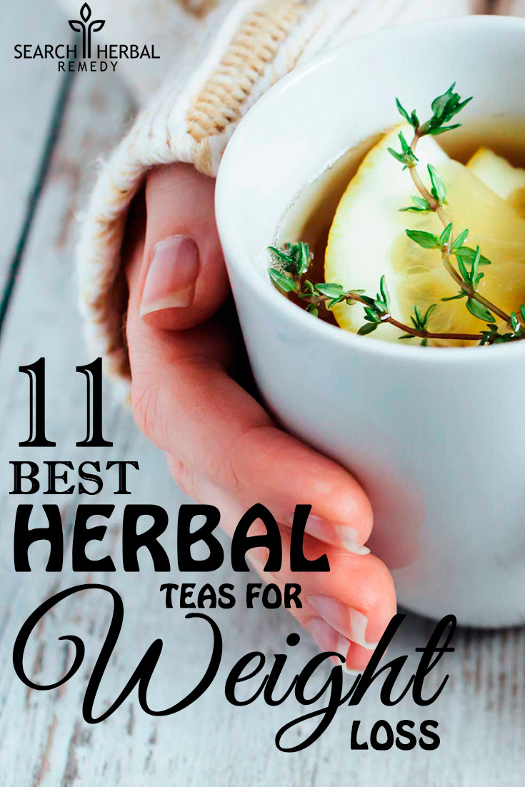 11 Best Herbal Teas For Weight Loss