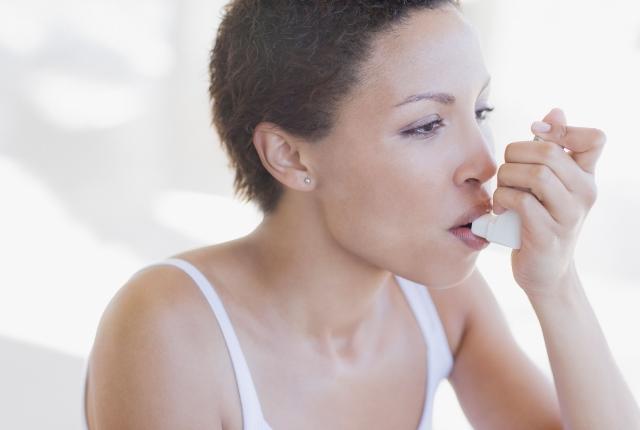 Controls Asthma Attack