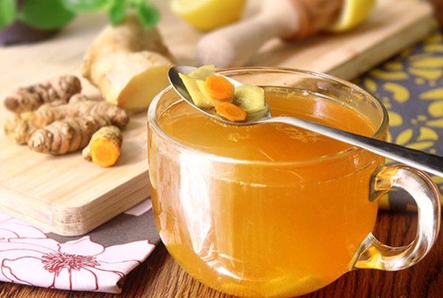 Ginger And Turmeric Tea