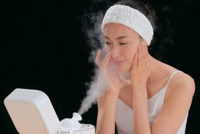 Try Facial Steam Therapy