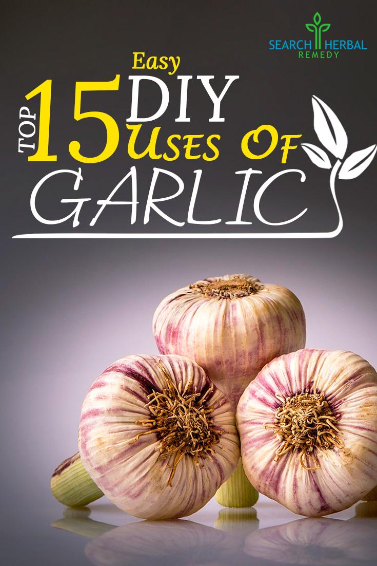 Top 15 Easy DIY Uses Of Garlic