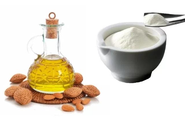 Almond Oil And Milk-Powder