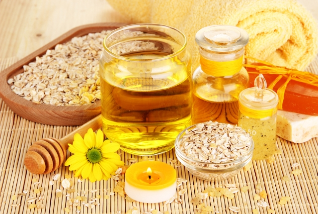 Mustard Oil And Oatmeal