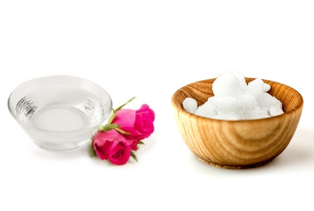 Rose Water And Camphor
