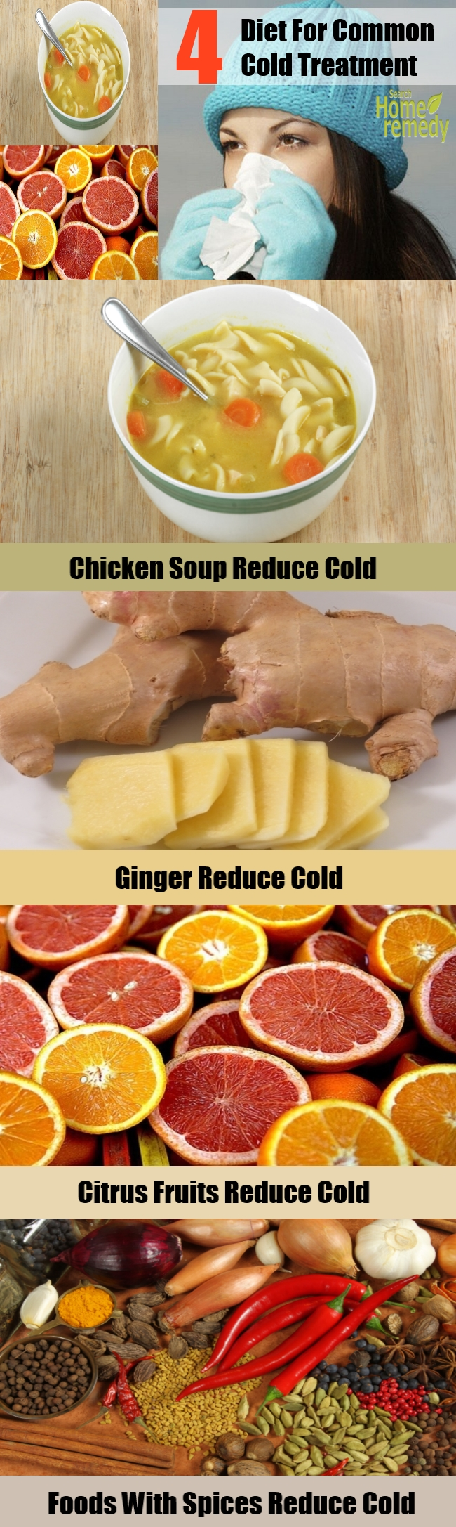 4 Diet For Common Cold Treatment