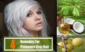 4 Home Remedies For Premature Gray Hair