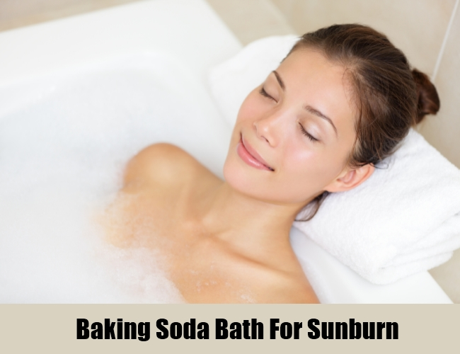 Baking Soda Bath For Sunburn