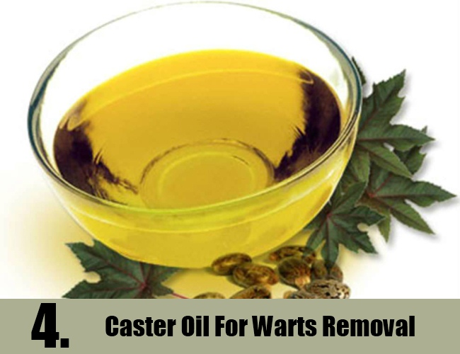 Caster Oil For Warts Removal