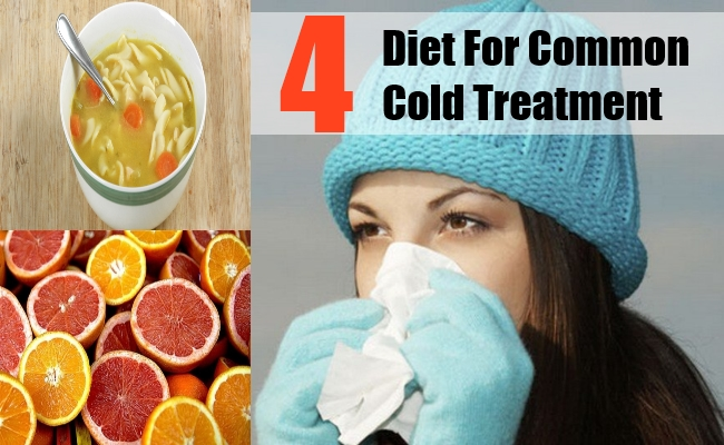 Diet For Common Cold Treatment