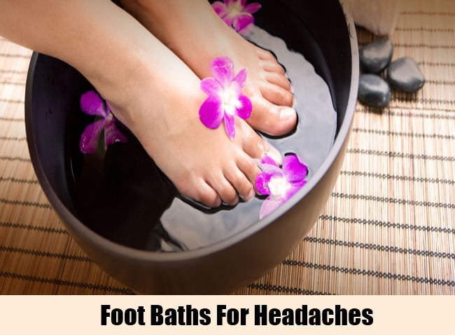 Foot Baths For Headaches
