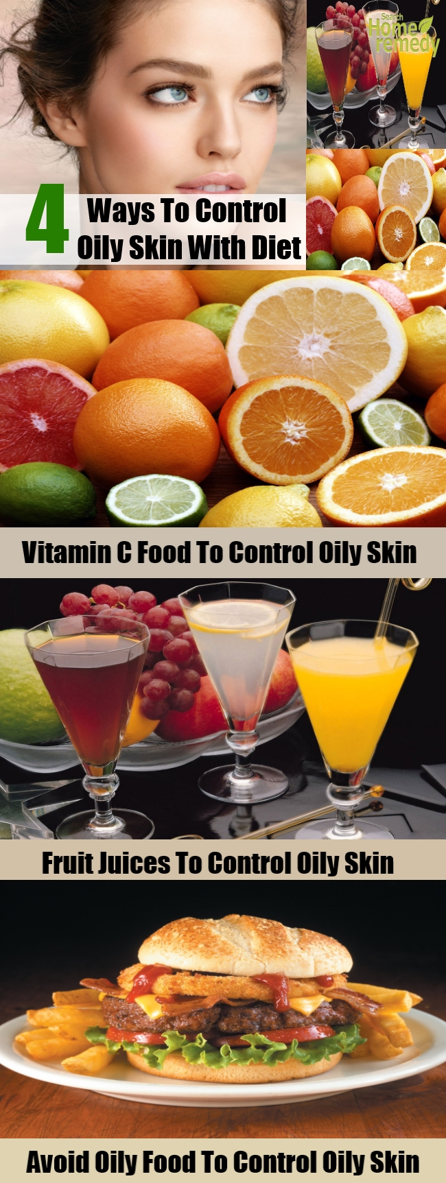 How To Control Oily Skin With Diet1