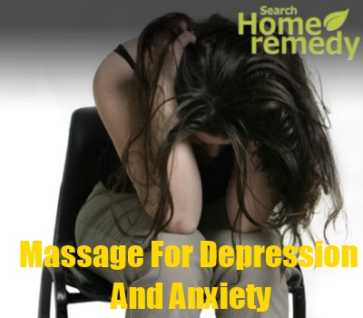 Massage For Depression And Anxiety