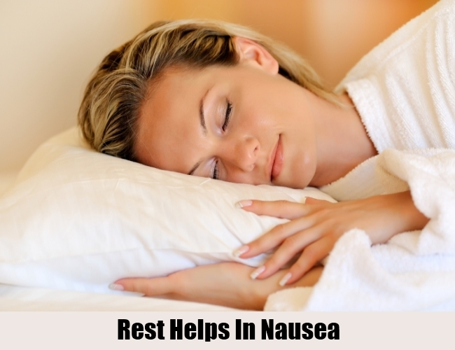 Rest For Nausea