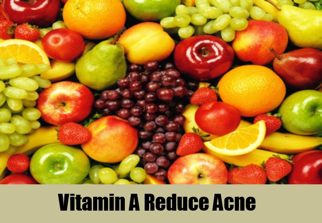 Vitamin A Reduce Acne