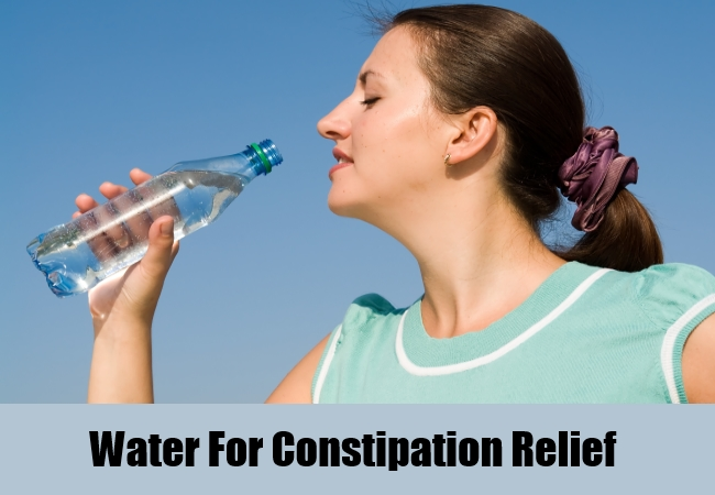 Water For Constipation Relief