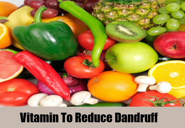vitamin to reduce dandruff