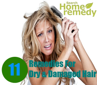 11 Quick Home Remedies For Dry And Damaged Hair