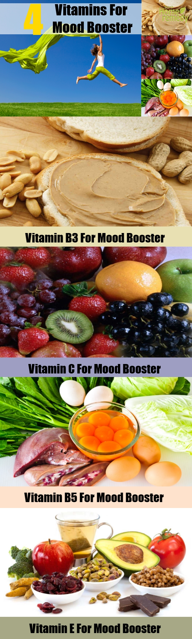 4 Vitamins For Mood Booster