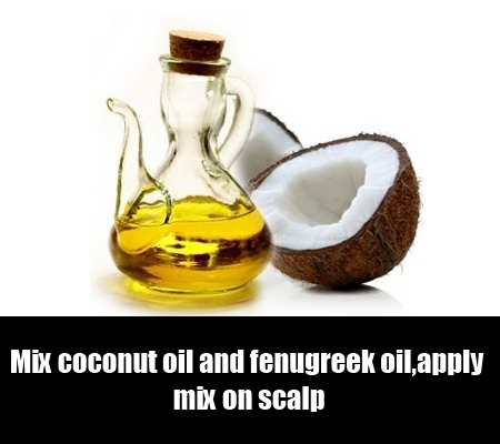 Coconut Oil And Fenugreek