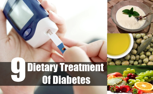Dietary Treatment Of Diabetes