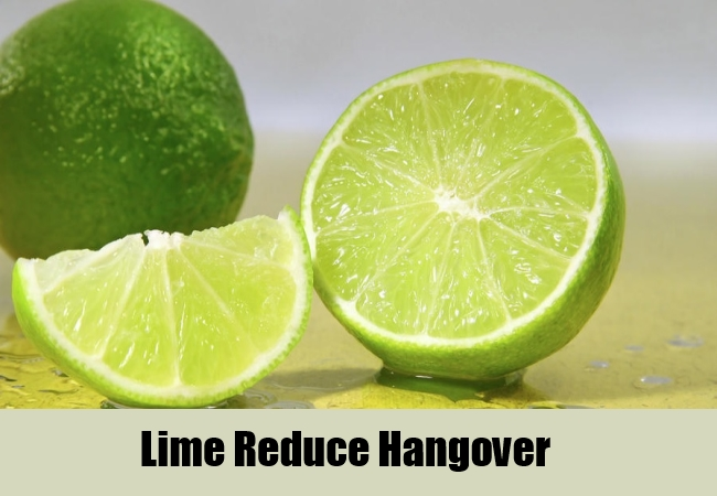 Lime Reduce Hangover