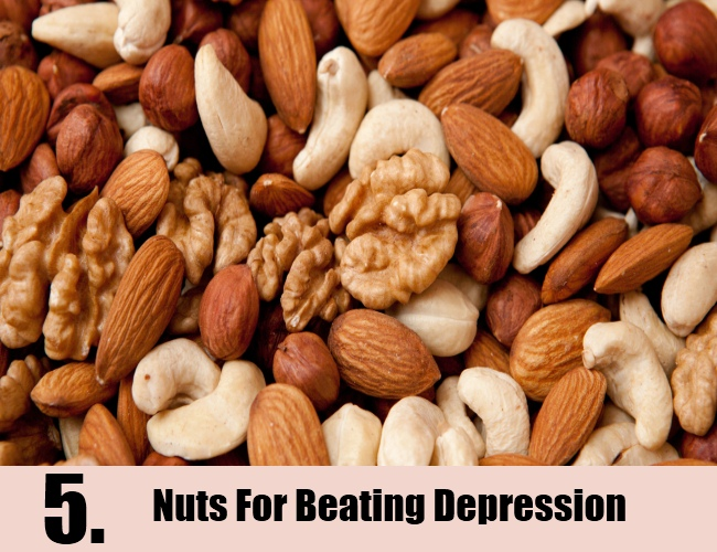 Nuts For Beating Depression