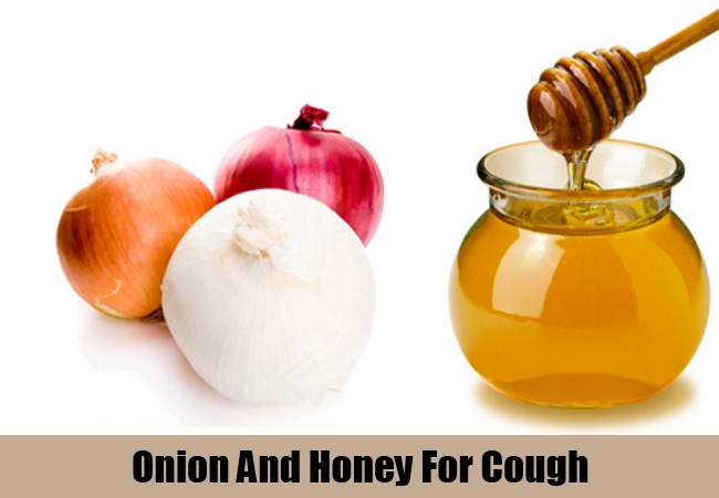 Onion And Honey For Cough