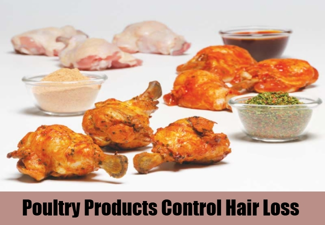 Poultry Products Control Hair Loss