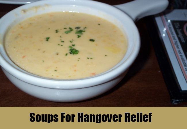 Soups For Hangover Relief