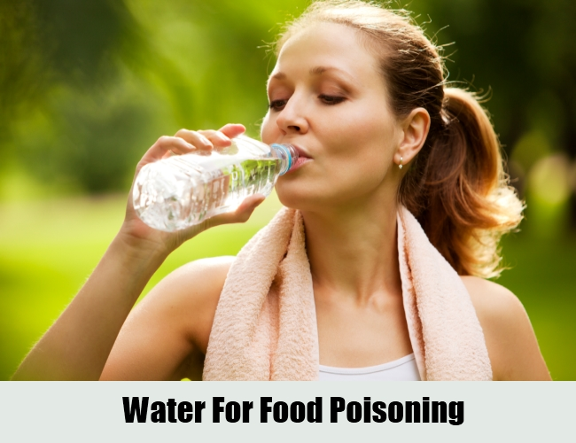 Water For Food Poisoning